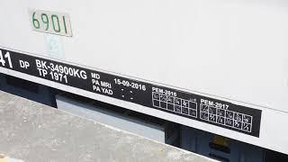 2018/05/11 【ジャカルタ 走行音】 東京メトロ 6000系 6901号車