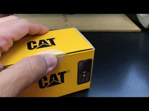 CATERPILLAR B30 Unboxing Video – in Stock at www.welectronics.com