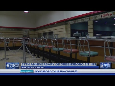57th anniversary of Greensboro sit-ins