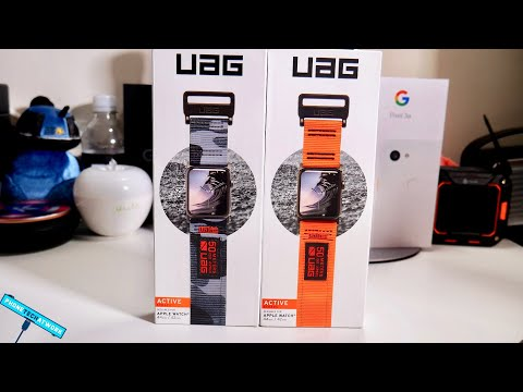 UAG Apple Watch Rugged Bands! Loving These!