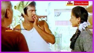 RajendraPrasad Hilarious Comedy Scenes - In Aa Okkati Adakku Telugu Movie