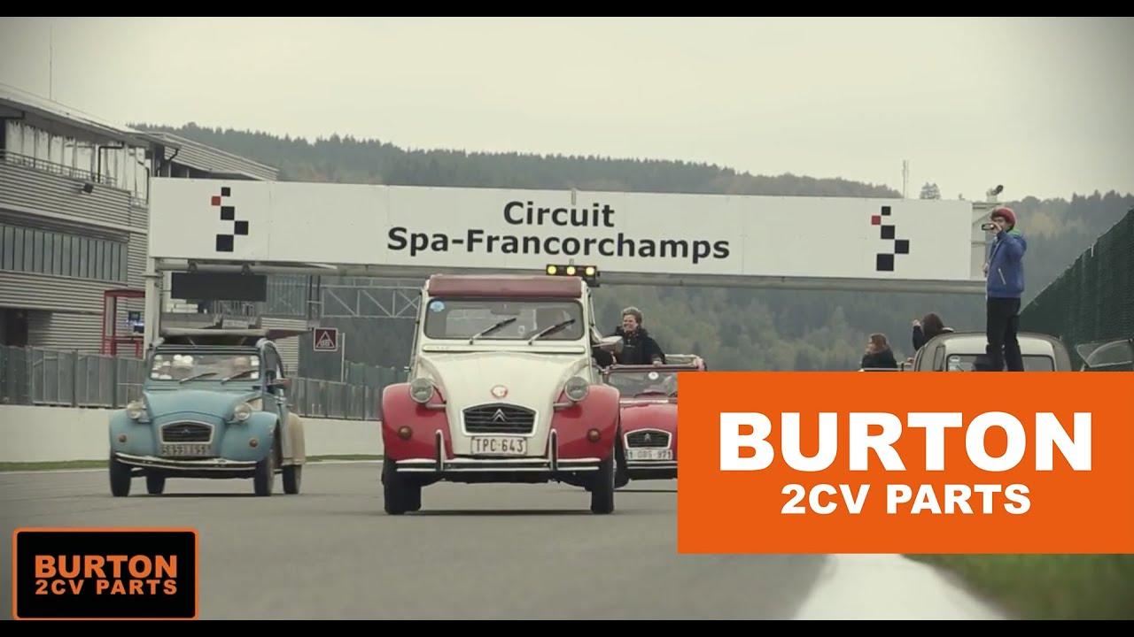 Burton Car Company - Aftermovie 2CV 24H Race Spa Francorchamps - YouTube