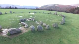 Castlerigg Stone Circle. Filmed with a DJI Phantom 3 Advance
