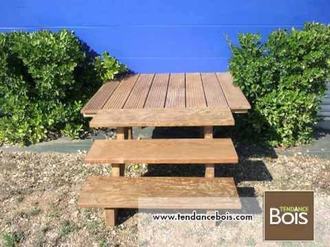 Limons Et Marches Descalier En Bois Exotique Ipe