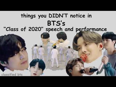 things you didn't notice in BTS's \