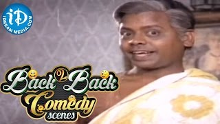 Telugu Movies Back to Back Comedy Scenes    Rajendra Prasad, Seetha    Dabbevariki Chedu Movie