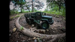 1/16th MN Millitary 6x6 from Banggood com