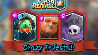clash royale crazy trifecta ultimate graveyard and inferno dragon deck