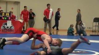 2016 Brock Open FS57kg Sam Jagas (Brock) vs Alex Moher (Brock)