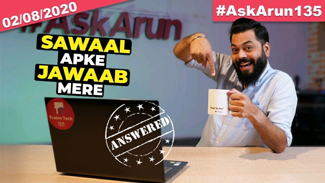 Exclusive Info????, Realme V5 India Launch, Jio 5G Speeds, Redmi Note 10 Launch, IPL 2020-#AskArun13