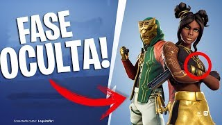 HIDDEN FASES OF LEVEL 100/LUXURY SKIN!? -THESANDS AND PISTAS!? -FORTNITE