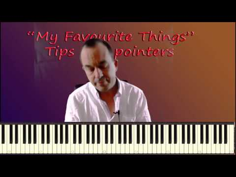 My Favourite Things Jazz Piano Tutorial