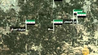 سيطرة الجيش السوري الحر على المواقع العسكرية