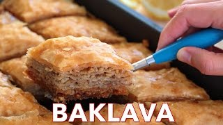 Dessert: The Best Baklava Recipe - Natasha's Kitchen