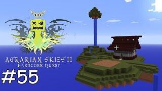 Minecraft Agrarian Skies 2 - E55 - Unmengen an Thaumcraft Quests [deutsch]