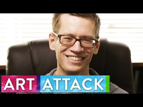 Artist Cameron K. Lewis Talks About His Artistic Process | Art Attack