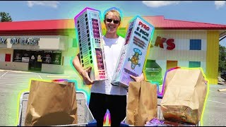 I BOUGHT THE BIGGEST LEGAL FIREWORKS IN THE STORE (Firework Shopping)