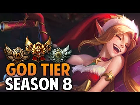 God Tier Champions from Season 8 so far in Bronze/Silver/Gold (League of Legends)