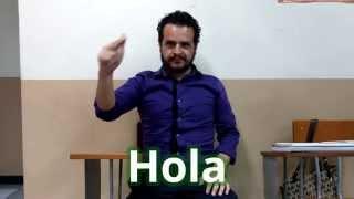 LSM - 04 - Saludos y otras expresiones en Lengua de Señas Mexicana
