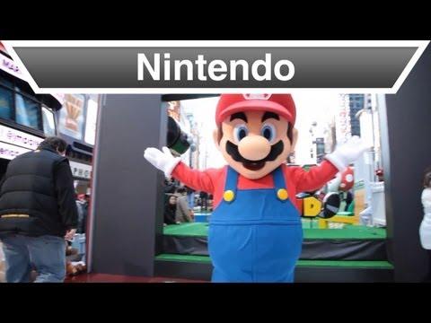 Nintendo - Super Mario 3D Land Takes Over Times Square