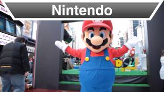 Nintendo - Super Mario 3D Land Takes Over Times Square