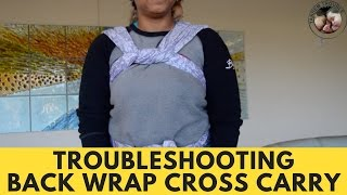 Troubleshooting: Adjusting Back Wrap Cross Carry (BWCC)