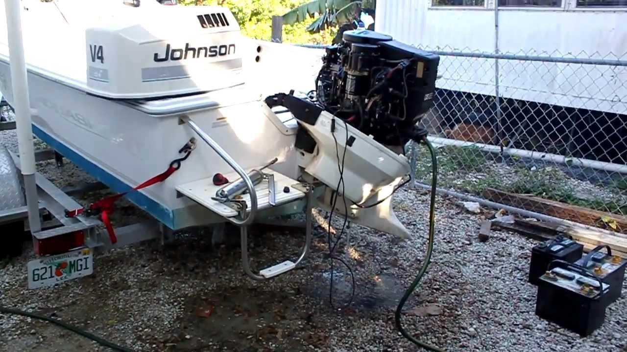 1997 Johnson Evinrude 90hp 2 Stroke Outboard