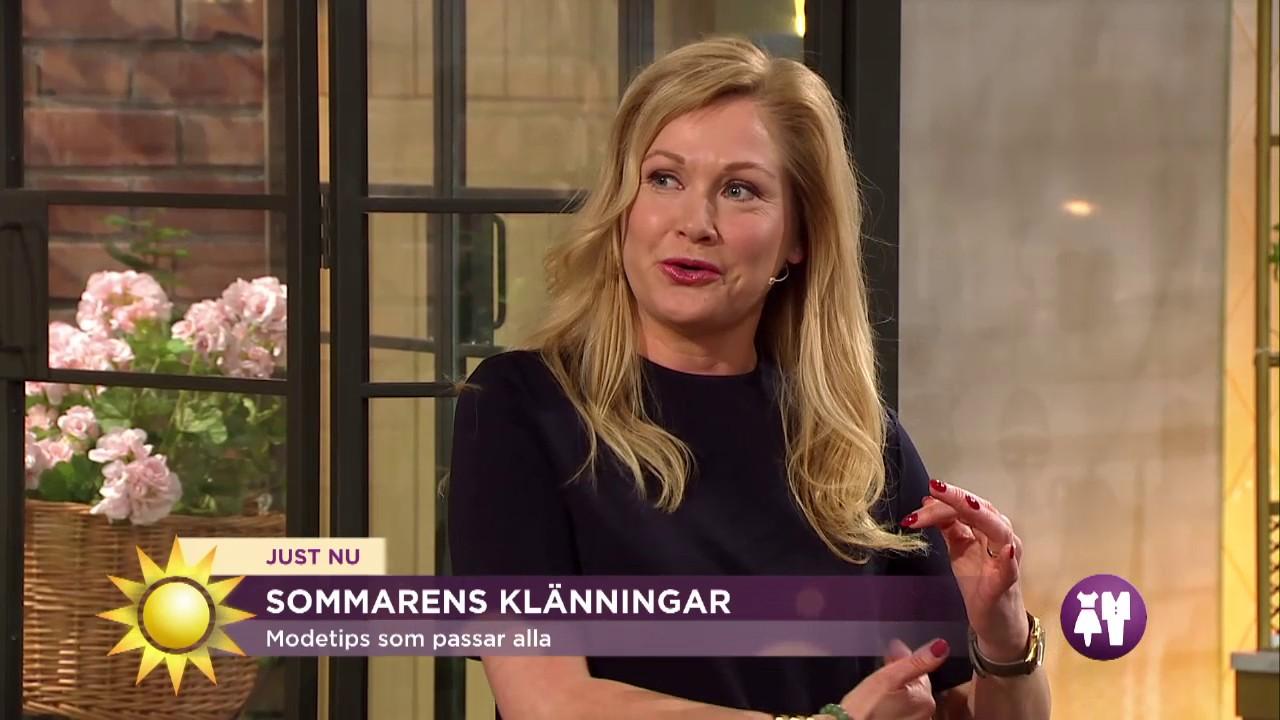 12ffac958bbe Modetips: Klänningar efter kroppstyp - Nyhetsmorgon (TV4) - YouTube