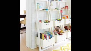 kids desk with bookcase
