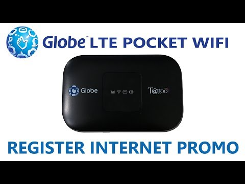 How to Register Globe LTE Pocket WiFi