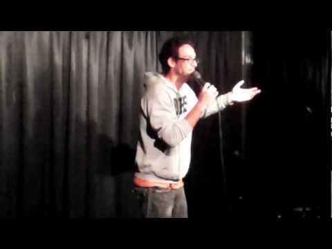 Comedian Rick Glassman says NOTHING for 10 minutes.
