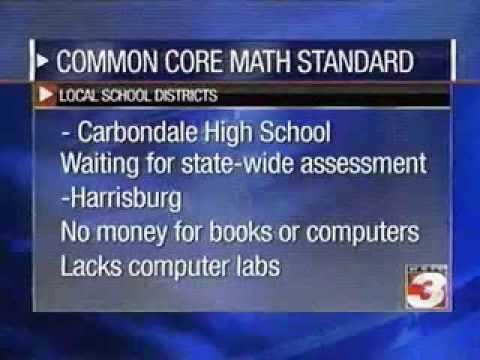 WSIL TV (Carterville) Lt. Gov. Simon talks Comon Core Math