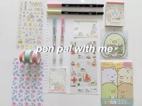 Pen Pal With Me #2 | Cute Theme ❤️