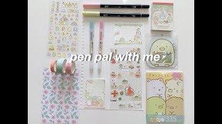 pen pal with me #2 | cute theme ❤️