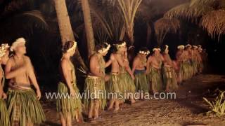 Ifalik tribes of Yap state : Caroline Islands in the Pacific ヤップ島 検索動画 7