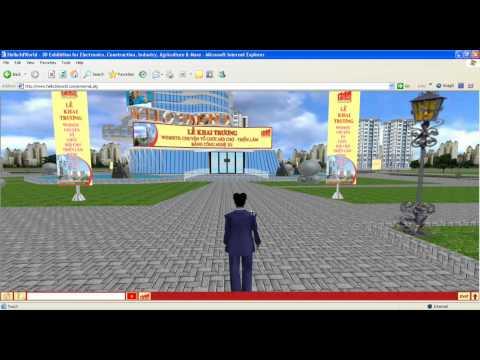 Fair and expo on web 3D