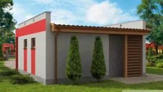 Projekt Garażu G73a. Pracownia Pro-arte