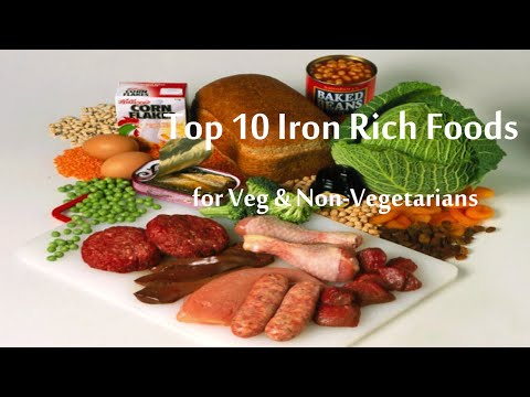 Top 10 Iron Rich Foods List: Fruits & Vegetables Rich in Iron Content
