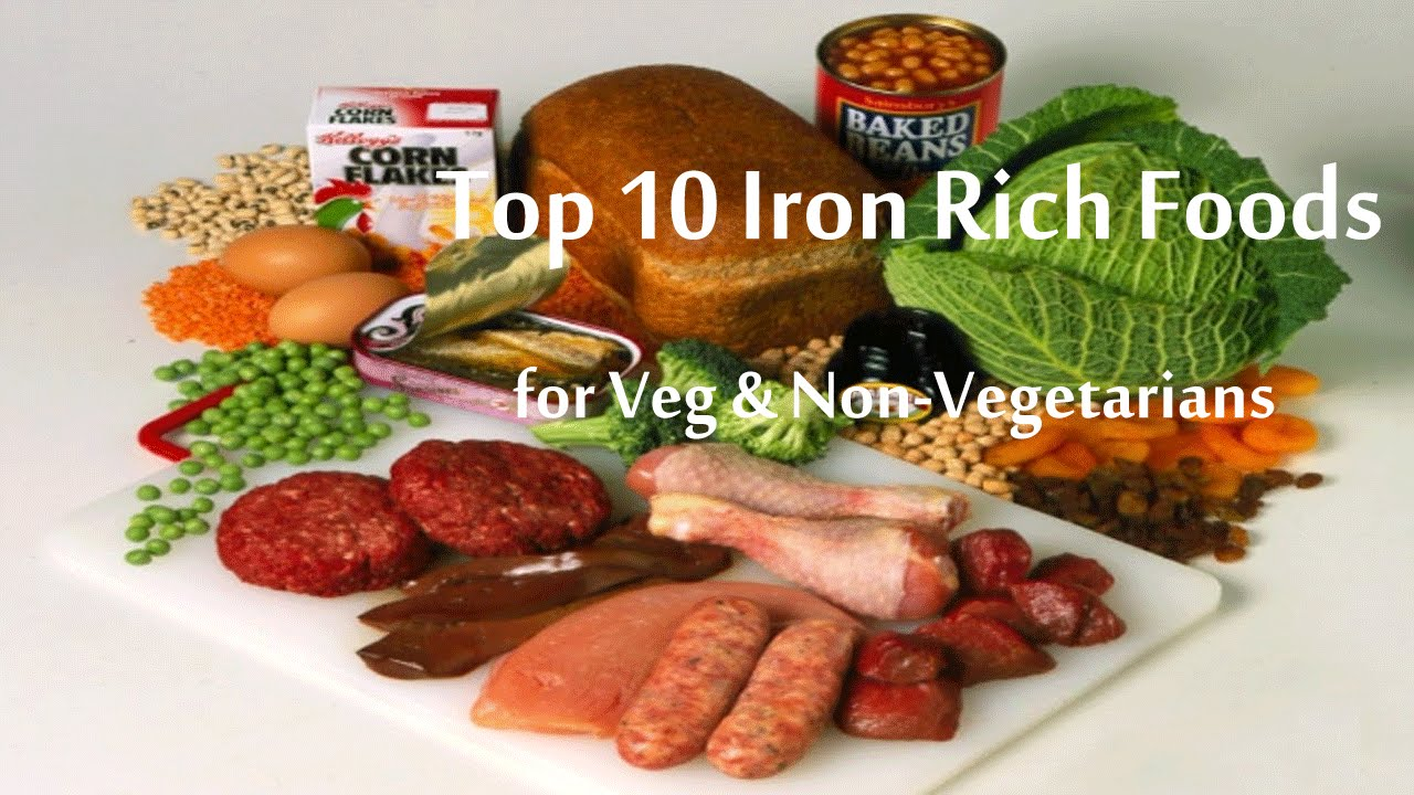 Top 10 iron rich foods list fruits vegetables rich in iron top 10 iron rich foods list fruits vegetables rich in iron content youtube workwithnaturefo