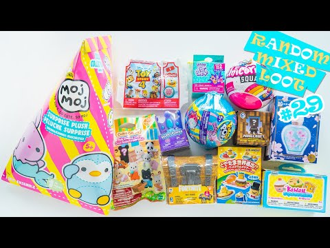 Random And Mixed Loot Opening Surprise Blind Bag Toys Unboxing #29 | H5Kids