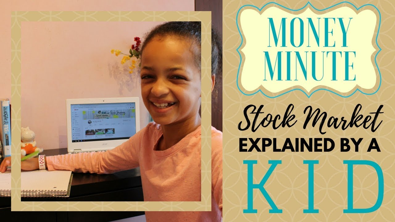 Kid Explains Stock Market In One Minute