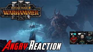 Total War: Warhammer 3 - Angry Trailer Reaction!