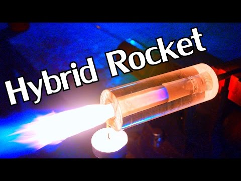 Building a DIY Transparent Hybrid Rocket Engine - NightHawkInLight