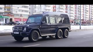 Обзор-интервью шестиколесного Гелендвагена!) Mercedes-Benz G 500 6x6 1994 года!)