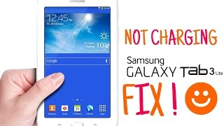 How to fix Samsung Galaxy Tab Not Charging.