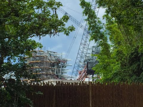 Construction Views of Pandora - The World of Avatar at Disney's Animal Kingdom