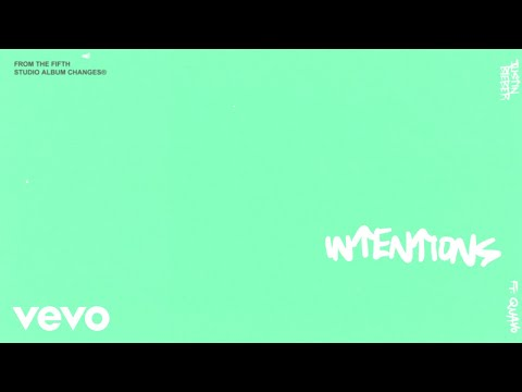 Justin Bieber - Intentions (Official Lyric Video) Ft. Quavo