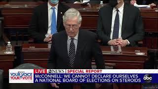 FULL SPEECH: Mitch McConnell breaks from Trump in blistering speech | ABC7