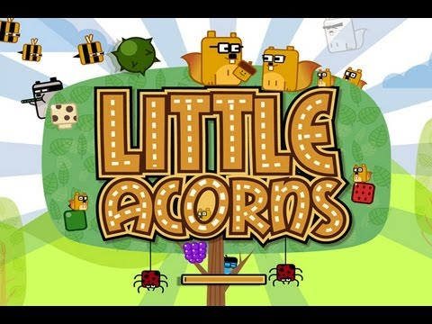 CGRundertow LITTLE ACORNS for iPhone Video Game Review