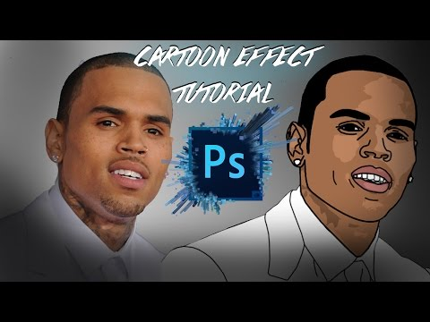 HOW TO MAKE A CARTOON IN PHOTOSHOP CC 2016 (EASY) 2016 UPDATE